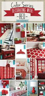best 25 red rooms ideas