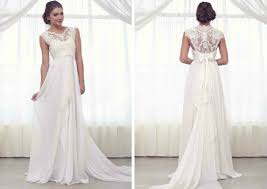 looking for a wedding dress with an interesting or unique back
