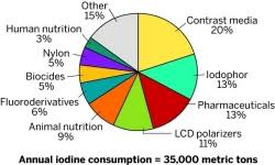 Earthquake Pie Chart Earthquake Rattles Iodine Market December 5 2011 Issue