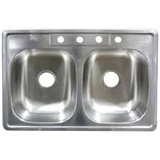 countertop flush with sink bowls stainless steel double bowl top mount sinks super home