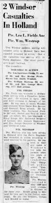 Monday may 7 1945 paper/William westrop - Newspapers.com