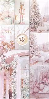 Xmas wallpaper, Pink christmas ...