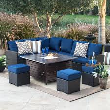 outdoor furniture with fire pit dining tables pits patio and firepit diy outdoor furniture with fire pit