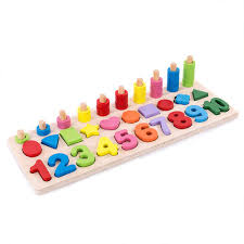 Interactive Counting Chart Details About 1 10wood Counting Number Board Montessori School Interactive Math Chart Game Toy