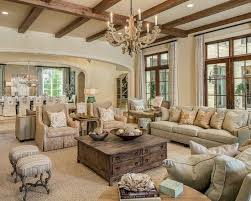 Country french living room furniture Elegant Love This Dark Beams Beautiful More Pinterest The Beauty Of Neutrals Furniture Pinterest Family Room Design