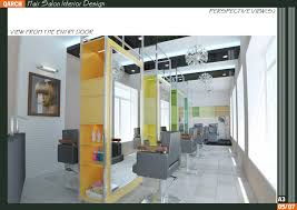 ... 4 - hair salon interior design 3d model max obj mtl ...