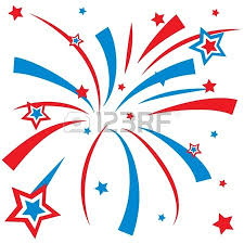 red white and blue fireworks clipart. In Red White And Blue Fireworks Clipart