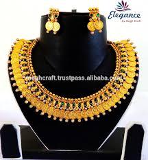 Vaddanam Designs 1 Gram Gold Online Shopping South Indian Lakshmi Coin Jewellery Set Wholesale One Gram