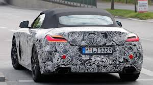 2018 bmw z4. interesting 2018 foureyed roadster latest 2018 bmw z4 spy shots show production lights  for bmw z4 a