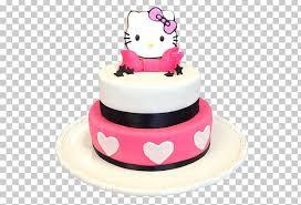 Birthday Cake Hello Kitty Cupcake Bakery Torte Png Clipart 1st