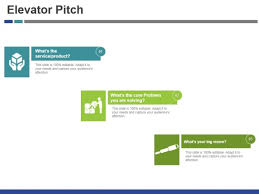 Elevator Pitch Template 1 Ppt Powerpoint Presentation Show
