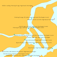 Pickering Passage South End Puget Sound Washington
