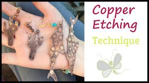 Salt Water Etching Copper Designs How To Make Jewelry With Copper Etching With Dragonfly Designs