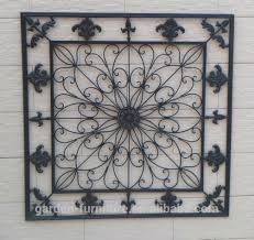 splendiferous wrought iron wall art your house design wrought iron decorative wall panels home decorative