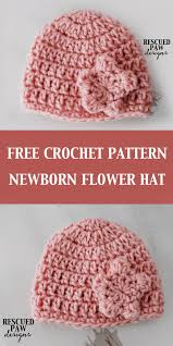 Newborn Crochet Patterns Impressive How To Crochet A Newborn Hat Crochet Newborn Hat Pattern