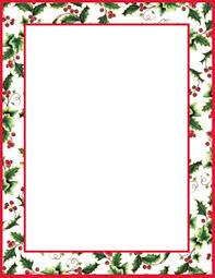 Christmas Letterhead Template Free Religious Christmas Letterhead Templates Geographics Holly