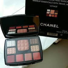 100 authentic chanel travel makeup palette