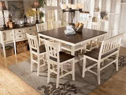 32 deep dining table. transitional breakfast room with bar height table | white dining furniture - whitesburg counter 32 deep
