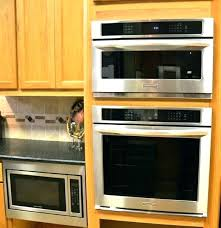 custom microwave trim kit custom microwave trim kits built in oven wall ovens vintage throughout microwave