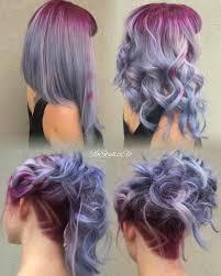 Purple Lavender Lilac Ombré Hair Color
