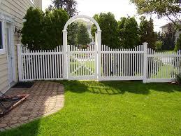 vinyl fence ideas. Gatehouse Vinyl Fence Installation Backyard Ideas