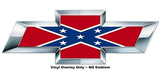 chevy logo with rebel flag.  Flag Chevy Bowtie To Logo With Rebel Flag E