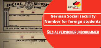 German Social Security Number for ...