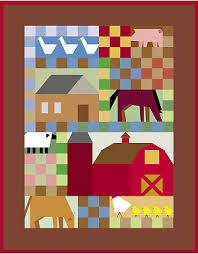 free farm quilt patterns | Farm Yard Optional Block Setting ... & free farm quilt patterns | Farm Yard Optional Block Setting | Archives |  Quiltmaker Adamdwight.com