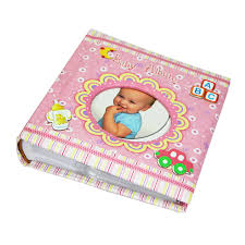 Baby Photo Album Book Us 10 32 43 Off 6 Inch Baby Scrapbook Album Cardboard Infant Toddler Photo Memorable Book For Keepsake Pink Abc Cover In Photo Albums From Home