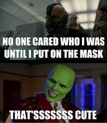 Bane mask meme - WeKnowMemes Generator via Relatably.com
