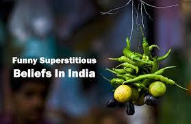 funny superstitious beliefs in