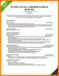 Resume And Cover Letter. Resume Summary Examples Entry Level ...