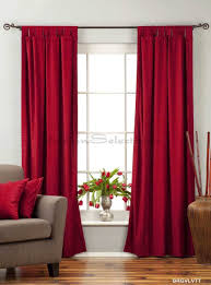Maroon Curtains For Living Room Amazoncom Burgundy Tab Top Velvet Curtain Drape Panel 43w