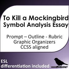 to kill a mockingbird symbol analysis essay esl support tpt to kill a mockingbird symbol analysis essay esl support