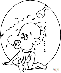 Small Picture Baby coloring page Free Printable Coloring Pages