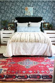 Makeover Bedroom Colorful Boho Bedroom Makeover Thewhitebuffalostylingcocom