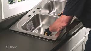 how to install a kitchen sink in a new countertop