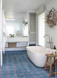 Moroccan Bathroom Tile Popham Design Cement Tiles Handmade In Morocco
