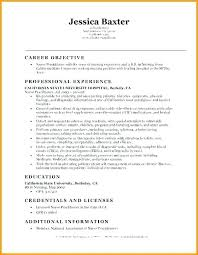 Resume Objective Examples Interesting Nurse Resumes Examples Resumes Examples Here Are Resume For Download