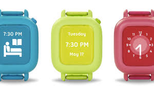 The Octopus by JOY watch comes in four colors: blue sky, lemon green,
