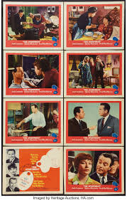 The Apartment United Artists 1960 Lobby Card Set Of 8 11 X