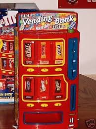 MM Candy Vending Machine Adorable MM'S CANDY VENDING MACHINE AND BANK FOR AGES 48 TO 488 564861993
