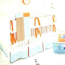 orange and white crib sheets orange crib skirt clementine crib bedding set zoom orange crib