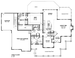 House Plan at FamilyHomePlans comCountry Farmhouse House Plan Level One