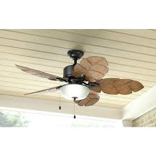 palm ceiling fan home decorators collection palm cove in indoor outdoor natural iron ceiling fan with
