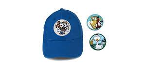 Patch-Hut mit Eleanor, Nettles, Zack in Blue Small - Blau - Kleine ...
