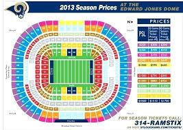 Rams Stadium Seating Yescurvydog Co