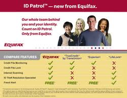 Identity Theft Comparison Chart Equifax Helps Consumers Combat Identity Theft With Launch Of