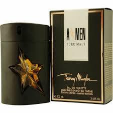 <b>a Men Pure Malt</b> by Thierry <b>Mugler</b> 3.4 Oz 100ml Eau De Toilette ...