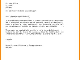Incident Report Letter Template